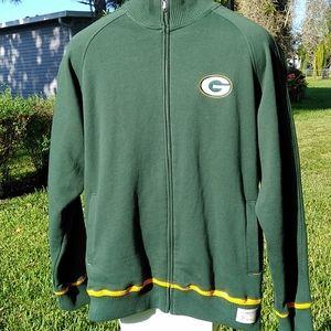 NFL Reebok Green Bay Packers Jacket LG